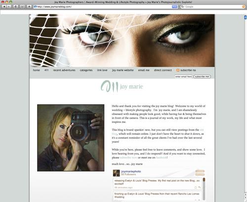 Joy Marie Blog